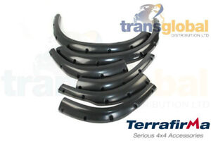 """Extra Wide +2"""" Wheel Arch Kit for Land Rover Discovery 2 TD5 V8 - TERRAFIRMA"""
