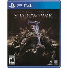 NEW Middle-Earth: Shadow Of War  - PS4   (Fast Shipping) New Sealed!