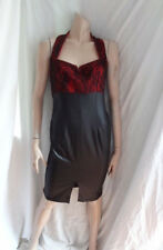 (AUG147) BNWT Size 10 *AMY CHILDS* Chic black/red bodycon dress ladies/women