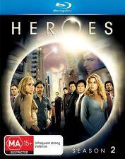 New and Sealed Heroes : Season 2 (Blu-ray, 2008, 4-Disc Set) New & Sealed