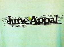 JUNE APPAL RECORDINGS VINTAGE LARGE PROMO SHIRT Malcolm Dalglish John McCutcheon