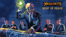 Poster 42x24cm Megadeth Rust in peace