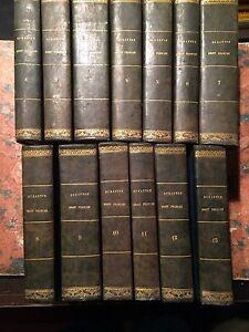 Duranton: Cours de droit francois suivant code civil, 13 Volumi Genova 1827-1833