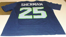 Seattle Seahawks Richard Sherman Name Number XXL Shirt NFL Players football