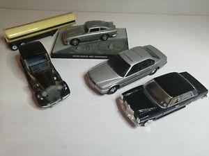 James Bond Toy Car Lot Aston Martin BMW Corgi Joblot Bundle