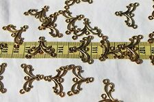 27x21mm Metal Golden Color Connector Dangle Findings Filigee /24 pieces