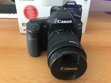 Canon EOS 80D 24.2MP Digital SLR Camera-Black (Kit w/ EF-S 18-135mm Lens)+EXTRAS