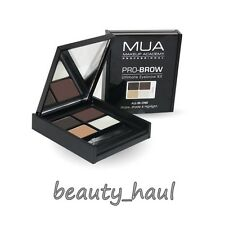 MUA PRO-BROW ULTIMATE EYEBROW KIT 2 Powders Highligter Gel & Brush 2 New Shades!
