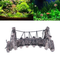 Bridge Decoration for Aquarium Ornaments Fish Tank Landscape Curved Bridge FA