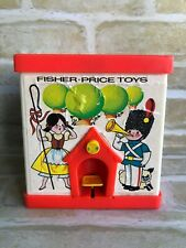 Fisher Price - 1970 VINTAGE ~ Jack in The Box PUPPET - Rare : Made In England