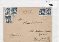 German Postal History Stamps Cover 1947  Ref 8765