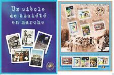 BLOC NEUF **10 timbres, dans  sa  pochette faciale 4.60 € N°32 ANNEE 2000