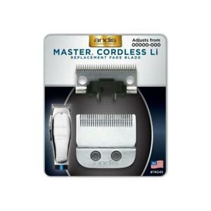Andis 74045 Master Cordless Clipper Li FADE BLADE Replacement Blade MLC Barber