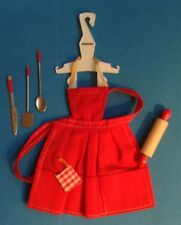 Barbie complete APRON AND UTENSILS PAK excellent