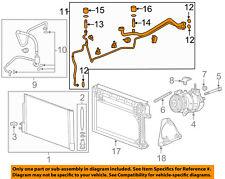 Chevrolet GM OEM Malibu Air Conditioner-Liquid & Suction Hose Assy. 23313732