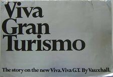 Vauxhall Viva HB GT 2-Litre 1968-69 Original UK Large Format Brochure V1777