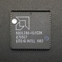 AMD N80L286-10/C2H CPU 80286 PLCC68 10MHz 16Bit x86 Processor NOS