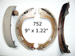 New Bendix 752 Parking Brake Shoes for Ford F150 Trucks Lincoln Town Car Rear