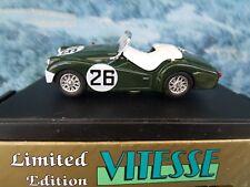 1/43 Vitesse (Portugal)   Triumph TR3A Le Mans 1959 limited edition