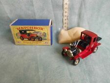 "MATCHBOX MODELS OF YESTERYEAR Y-1 1911 MODEL ""T""  FORD  VINTAGE TOYS"