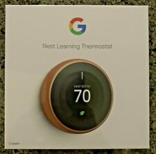 Google T3021US Nest 3rd Gen. Learning Thermostat - Cooper