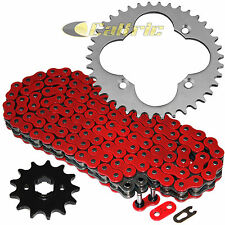 Red O-Ring Drive Chain & Sprockets Kit Fits HONDA TRX250R FourTrax 250 2X4 88 89