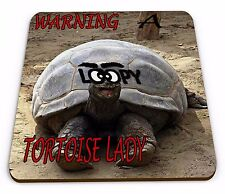 Warning A Loopy TORTOISE Lady funny Mug funny Coaster