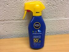 NIVEA SUN KIDS PROTECT & CARE SUN LOTION SPRAY SPF 50+ 300ml NEW