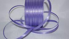 Borte 4110 Herzen auf Lila Satin 15mm Breite  Ripsband Webband
