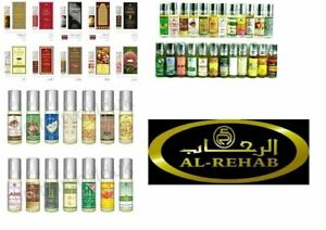 New Genuine Al Rehab 6ml Attar Oil Perfume Fragrance Roll On Halal Alcohol Free