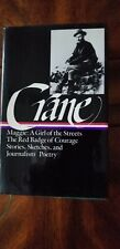 Crane: Library of America: Prose and Poetry.  HC, Red Badge of Courage & More