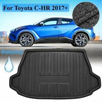 Rear Trunk Mat Cargo Boot Liner Tray  For Toyota C-HR CHR 2017 2018 2019 Black