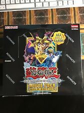 Yugioh The Dark Side of Dimensions Movie Pack Gold Edition Factory Sealed Box