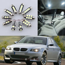 NEWEST White Light Interior LED Package 12x for BMW 5 Series E60 M5 2003-2010 L6