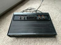 Atari 2600 Darth Vader Black Game Console Untested As Is