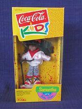 Coca Cola Kids SAMANTHA and her Slider Glider MIB NEW by ERTL (1993)