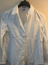 Maternity Women`s Button Down Shirt Casual Dress Blouse Size medium