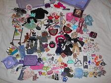 Bratz Clothes, Shoes, Accessories, Pets Petz Lot - Guitars, Jewelry, Case MORE!