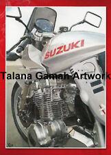 1 x Suzuki Katana Classic Japanese Motorcycle Motorbike A6 Greetings Card