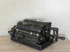 antique calculating Triumphator machine art deco office desk Accounting bauhaus