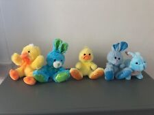 5X Easter Mixed Plush Lot