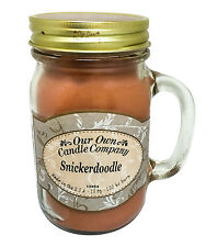 Snickerdoodle Scented Candle in 13 oz Mason Jar by Our Own Candle Company