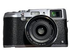 Fujifilm X100S Digital Camera - Silver, Near-Mint, Low Shutter + Extras