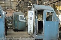 British Rail Class 40 40024 Cab End Crewe works melt shop 13/10/85 Rail Photo