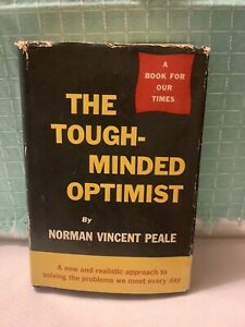 """The """"Tough-Minded Optimist"""" Written And """"Signed"""" By Norman Vincent Peale 1961"""