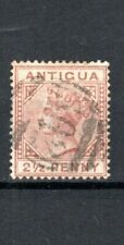 More details for antigua 1882 2 1/2d red-brown fu