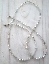 * Crystal Maze* Glasses Chain  Spectacles Holder  Eyeglass Strap  Beaded Cord