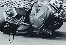 Freddie Spencer Hand Signed 12x8 Photo Honda MotoGP 9.