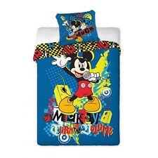 Disney Mickey Mouse Micky Maus Bettwäsche 160x200 NEU ÖkoTex Baumwolle