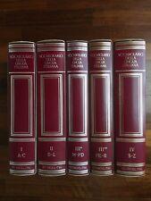 TRECCANI - Vocabolario della lingua italiana - 5 volumi